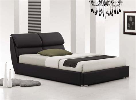 lit chambre adulte lit adulte design coloris noir prosper lit adulte