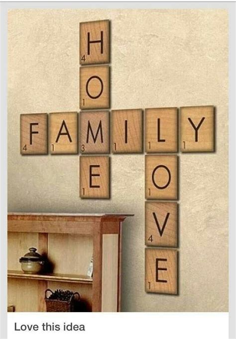 scrabble tile generator 57 best home decor images on my house home