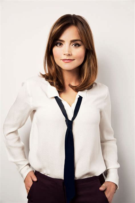 doctor who hairstyles jenna coleman latest photos celebmafia
