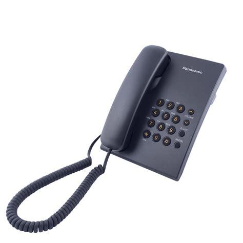 Panasonic Corded Phone Kxts505 panasonic kx ts 500 black price 11 50 eur corded phones phones communications bittel