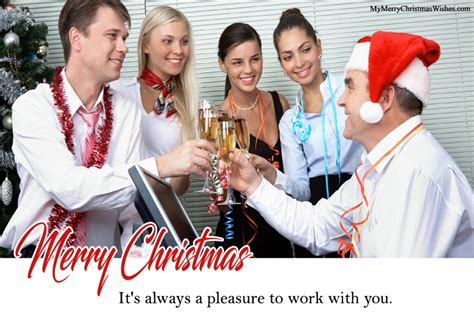 merry christmas wishes  boss employees business partner clients