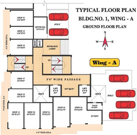 serin residency floor plan 295 sq ft 1 bhk 1t apartment for sale in dbr constructions