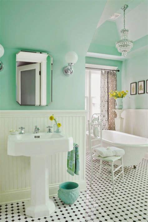 badezimmer 50er jahre badezimmergestaltung ideen die gerade voll im trend liegen