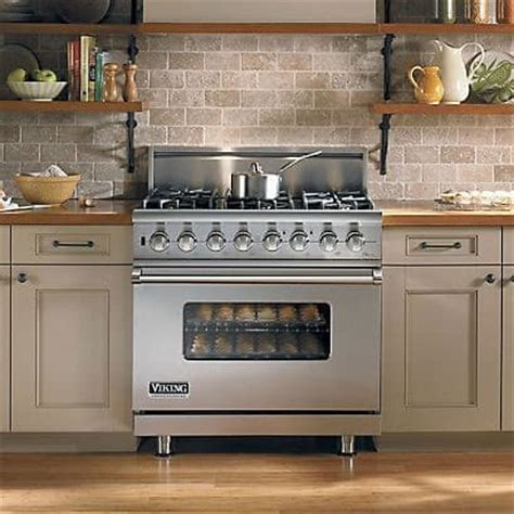 cucine a gas colorate viking vdsc5366bss 36 inch pro style dual fuel range with