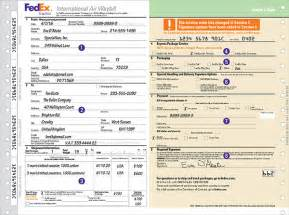 international shipping label template how to complete shipping labels and shipping documents fedex