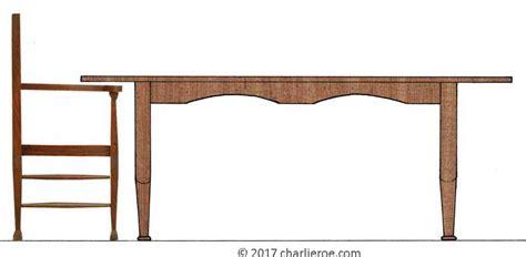 new reproduction nouveau oak dining table