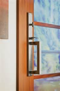 contemporary entry door hardware by rocky mountain