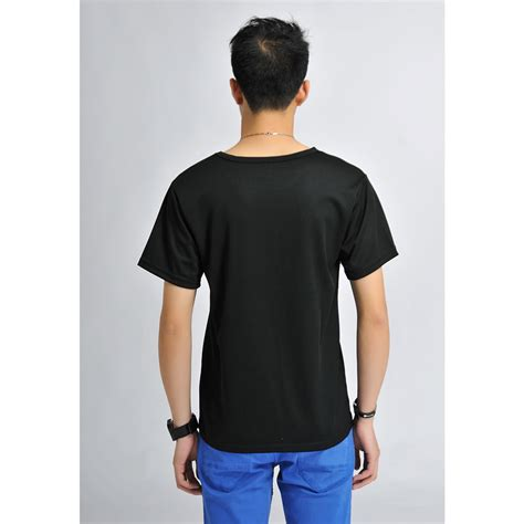 Baju T Shirt Baju Olahraga Mesh Pria O Neck Size M 85301 T Shirt