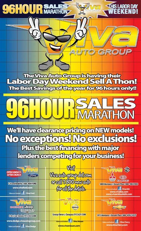 labor day weekend car sales marathon viva kia el paso tx
