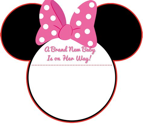Baby Shower For 4th Child by New Free Printable Mickey Mouse Baby Shower