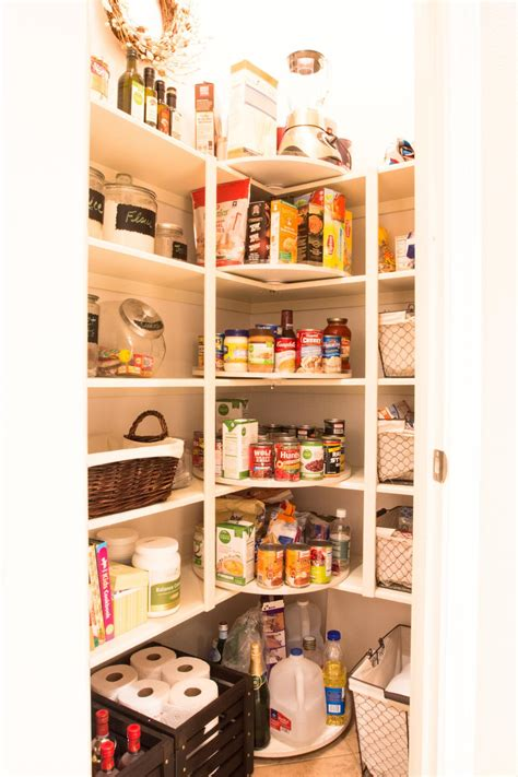how to use a lazy susan to organize everything in your