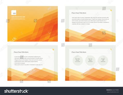 brochure and business card template presentation slides template design brochure cover stock