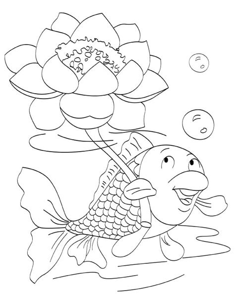 coloring page flower bud flower bud preschool coloring pages