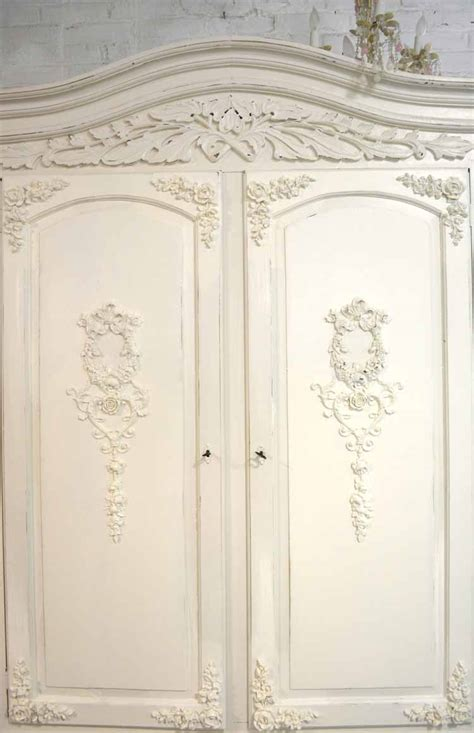 shabby chic armoire french armoire painted cottage chic shabby french romantic