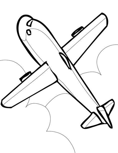 airplane clipart coloring page airplane clipart airplane clipart cartoon airplane clip
