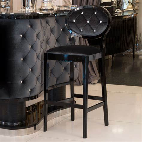 decoration bar stools high end high end luxury upholstered bar stool juliettes interiors