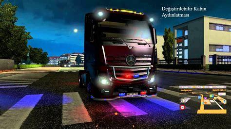 mod game ets2 neon mod v5 0 ets2 euro truck simulator 2 mods