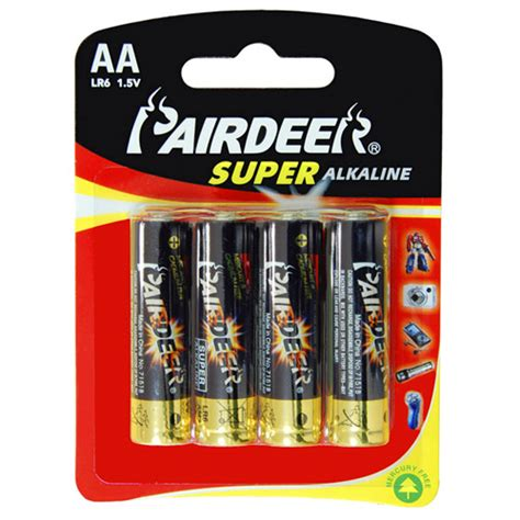 100 Aa Batteries Bulk - 100pcs alkaline aa battery prem quality pairdeer