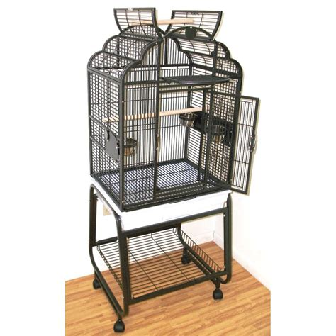 hq opening victorian with cart stand bird cage in
