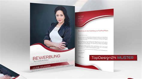 Bewerbungen Design Vorlage bewerbungsdesign 2 rot topdesign24