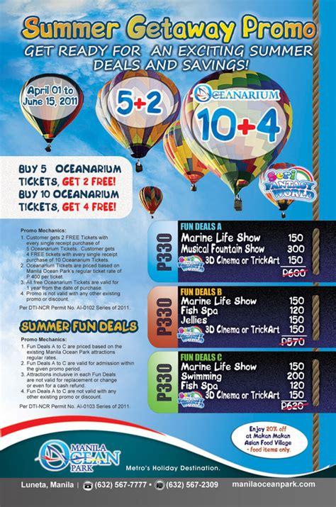 promo ocean park maret 2016 manila ocean park entrance fee reservation promos