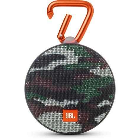 Clip 2 Portable Speaker jbl clip 2 speaker camouflage jblclip2squad b h photo