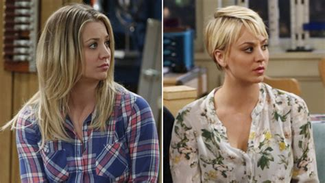 puctures of penny new hair cut bigvbang theroy the big bang theory latest news ctv ca