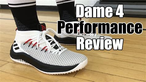 adidas dame 4 review adidas dame 4 performance review youtube