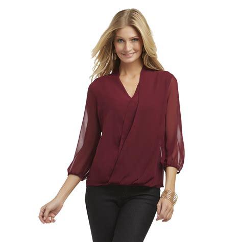 wrap chiffon blouse attention s chiffon wrap blouse cami