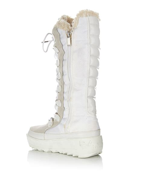 womans white boots pajar s greenland white snow boots designer