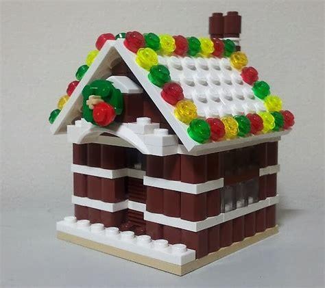 lego gingerbread house lego gingerbread house mocs