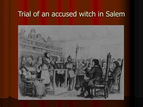 Salem Court Records Ppt Salem Witch Trials 1692 Powerpoint Presentation