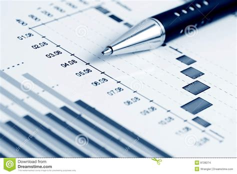 financial graphs analysis stock images image