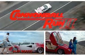 Cannonball Run 2 Lamborghini Top Ten Lamborghini Countachs Retromash
