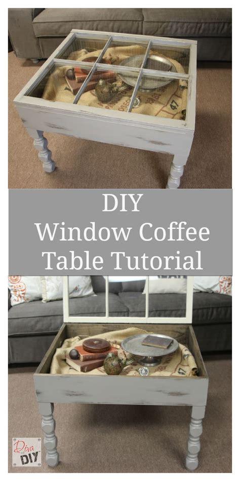 window coffee table diy diy window coffee table