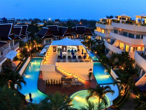 phunawa resort accommodation karon beach hotel phuket