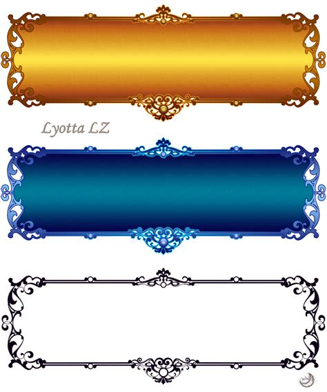 design pictures borders labels 2 by lyotta on deviantart