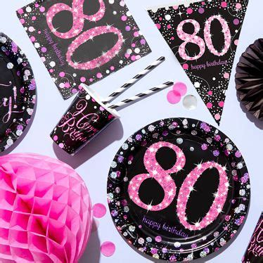 80th Birthday Party Themes & Ideas   Party Supplies