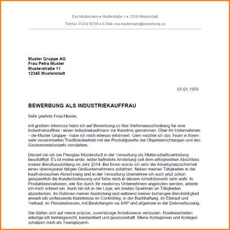 Vorlage Bewerbung Fur Industriekauffrau 9 Bewerbung Industriekaufmann Questionnaire Templated
