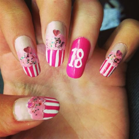 50 best birthday nail designs 30 most adorable birthday nail designs