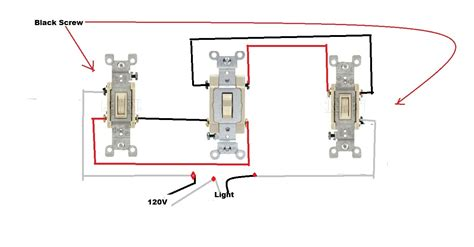 how to wire a four way light switch diagram 4 way switch