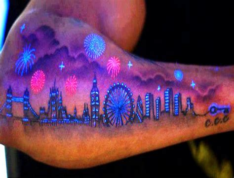 black light ink tattoo collection of 25 uv
