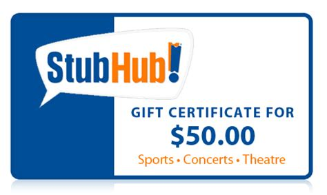 Stub Hub Gift Cards - buy tickets autos post