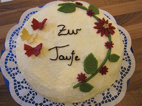 Torte Zur Taufe by Torte Zur Taufe Rezepte Chefkoch De
