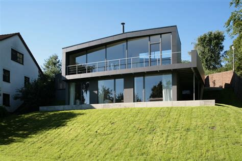 markus gentner faltenwurf mit ausblick haus k contemporary exterior