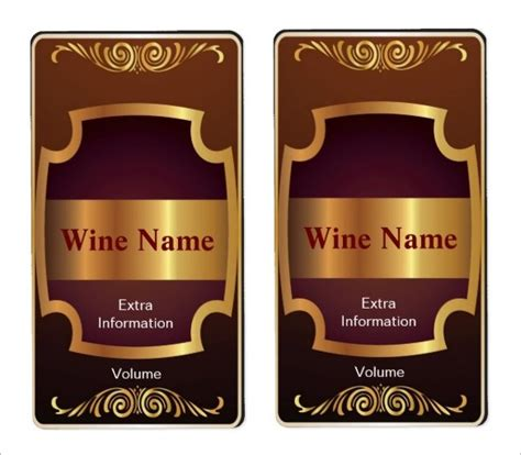 wine bottle label template doc 500426 wine bottle labels and free printables on