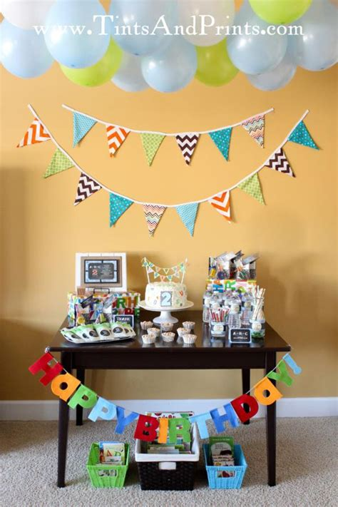 2nd birthday decorations at home kara s party ideas alphabet abc themed 2nd birthday party