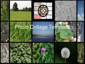 Photo Powerpoint Template by Photo Collage Template