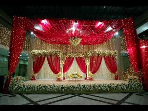 Decorated Marriage Stage in a wedding ceremony in Hazro