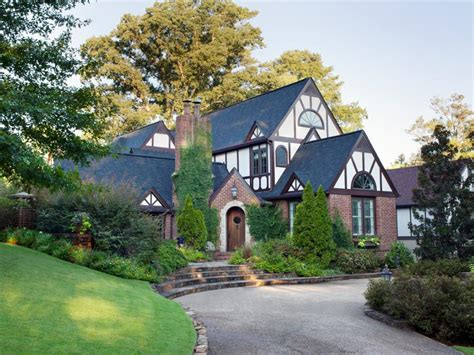 tudor revival architecture hgtv stealable curb appeal ideas from tudor revivals hgtv